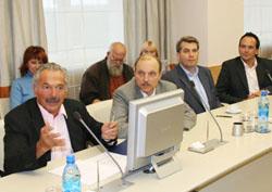 Делегация немцев на встрече с представителями Зеленограда