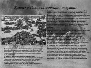Замысел операции заключался в том, чтобы ударами 30-й армии с севера и 1-й уд
