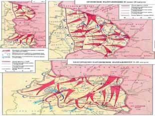 Планирование летне-осенней кампании 1943 года Оперативно-стратегическая знач