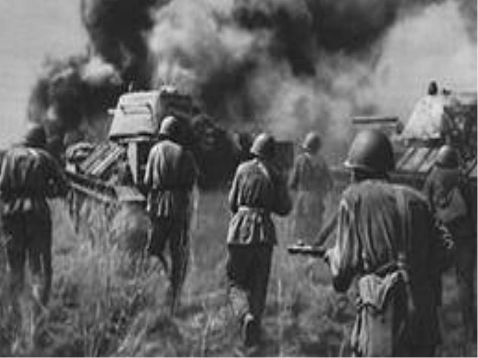 Борьба за Орловск Операция «Кутузов» В боях на орловском плацдарме наша пехот...