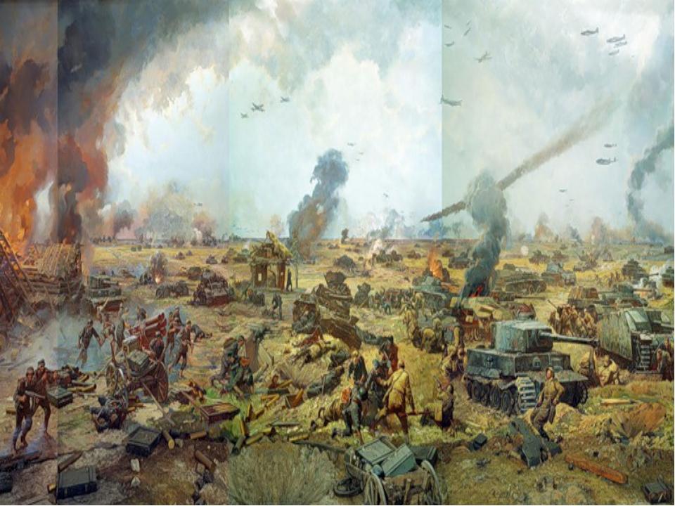 Курская битва ( Огненная дуга) Ку́рская би́тва (5 июля — 23 августа 1943 года...