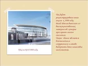 Школа № 4 в 3000 году. Так будет реконструирована наша школа к 3000 году. Фа