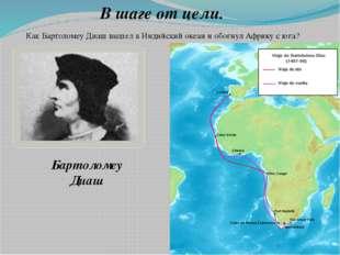 В шаге от цели. Как Бартоломеу Диаш вышел в Индийский океан и обогнул Африку