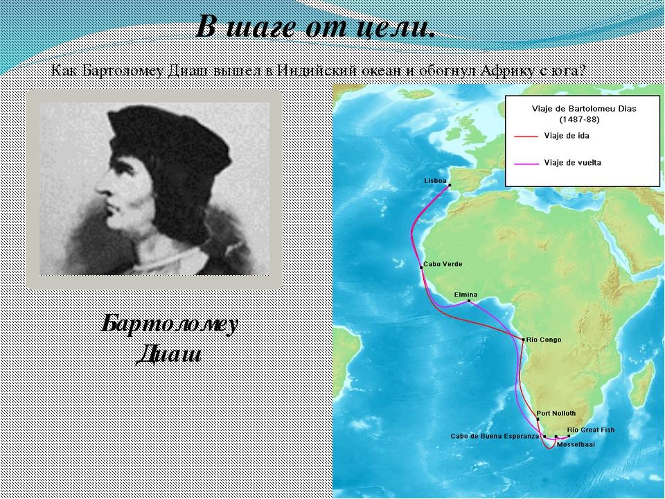 В шаге от цели. Как Бартоломеу Диаш вышел в Индийский океан и обогнул Африку...
