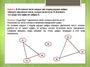 Задача 1. В 10-значном числе каждые две подряд идущие цифры образуют двузначн