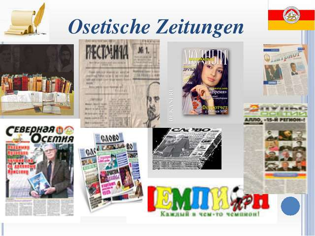Osetische Zeitungen