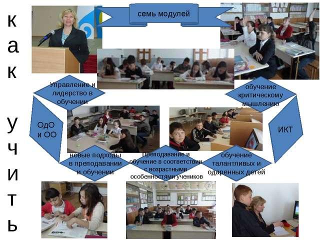 как учить семь модулей новые подходы в преподавании и обучении обучение крити...