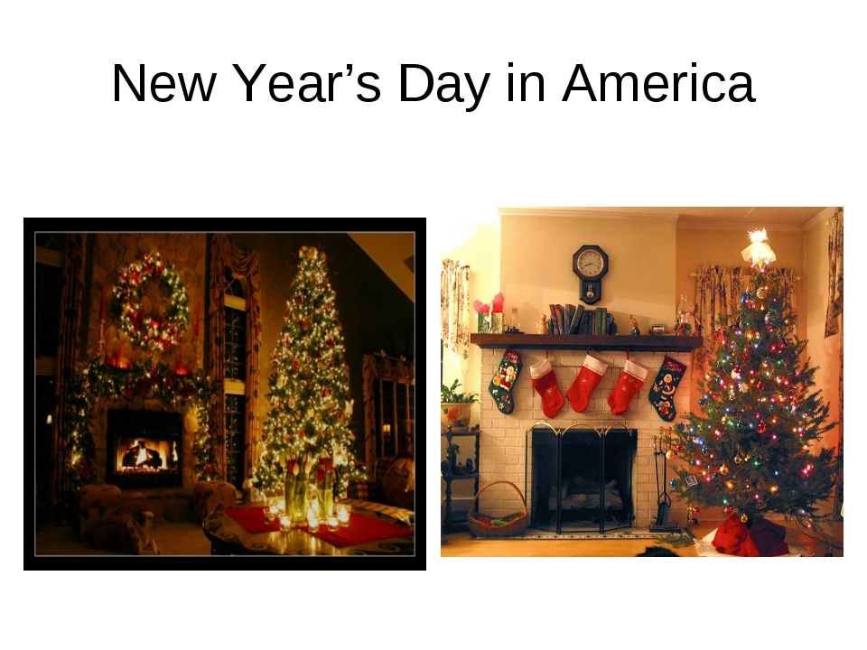 New Year's Day in America