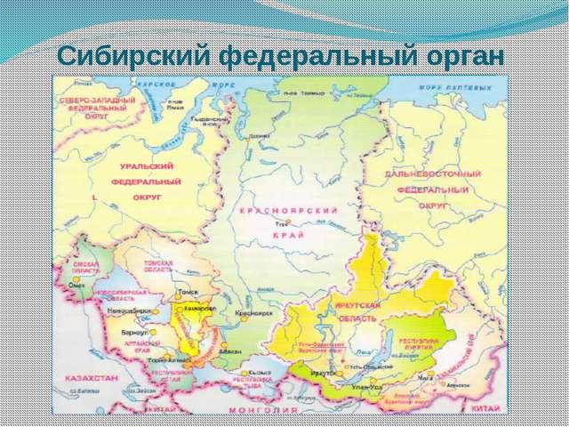 Сибирский федеральный орган
