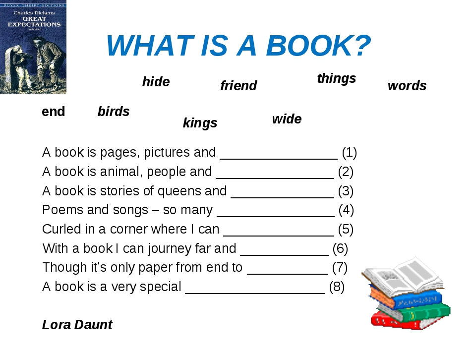 WHAT IS A BOOK? A book is pages, pictures and ________________ (1) A book is...