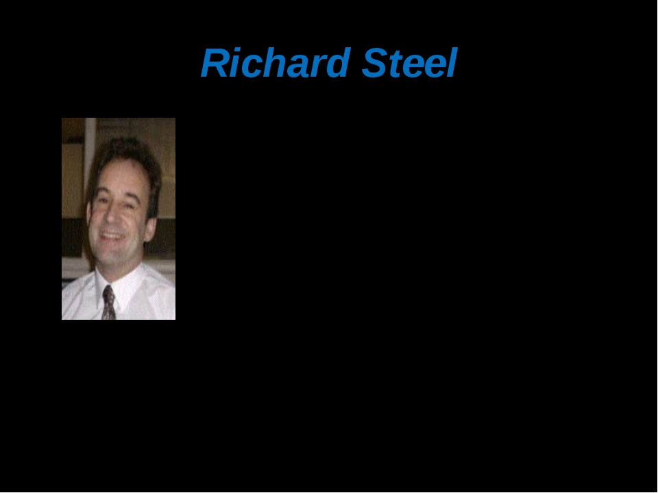 Richard Steel to the body / Reading / is / to the mind / what exercise / is