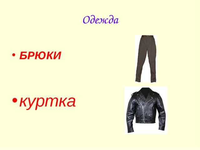 Одежда БРЮКИ куртка