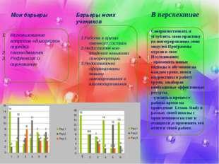 11.1.1. Мои барьеры Использование вопросов «Высокого» порядка t-менеджмент Р