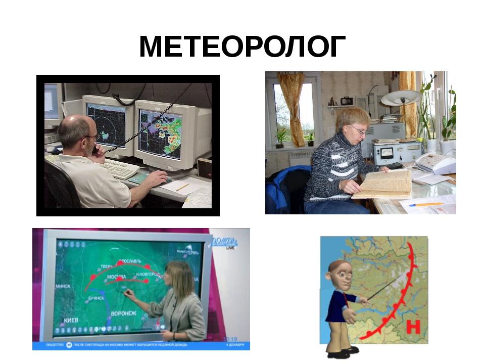 Профессия синоптик картинки