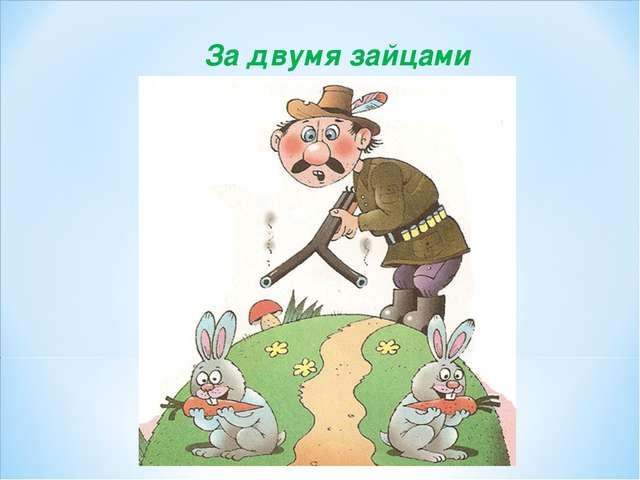 За двумя зайцами