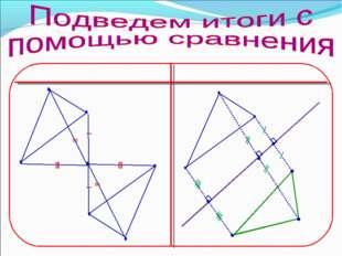 Центральная симметрия Осевая симметрия