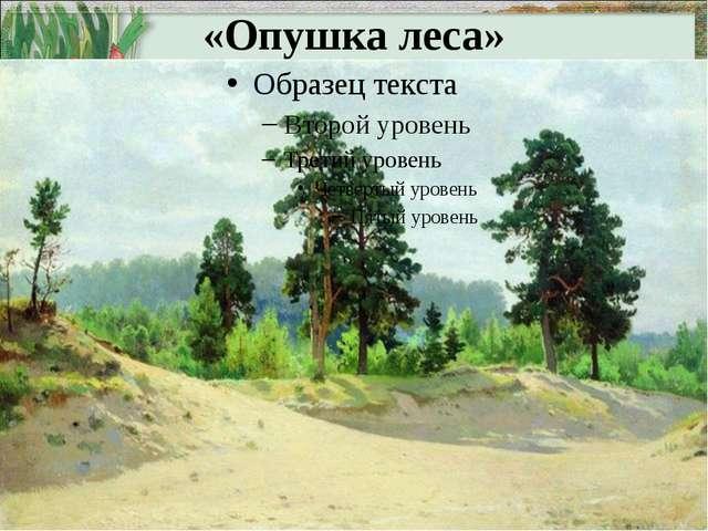 «Опушка леса»