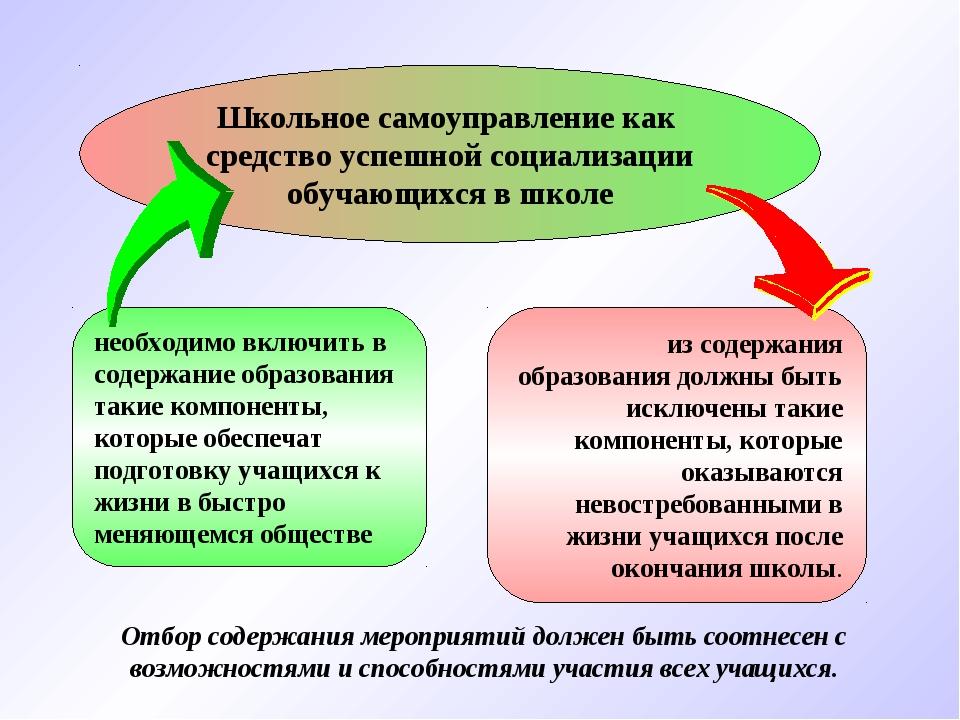 необходимо включить в содержание образования такие компоненты, которые обеспе...
