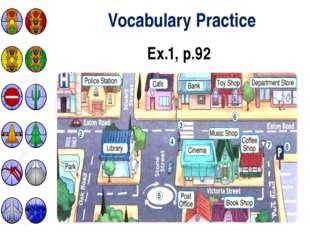 Vocabulary Practice Ex.1, p.92