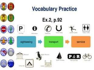 Vocabulary Practice Ex.2, p.92