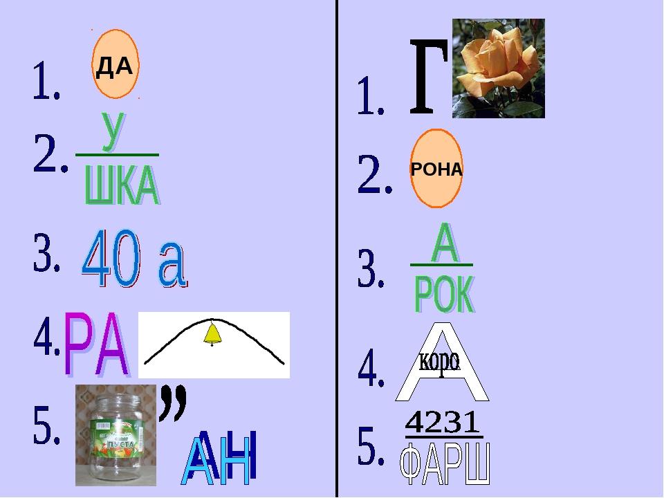 РОНА ДА