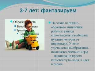 3-7 лет: фантазируем На этапе наглядно-образного мышления ребенок учится соп