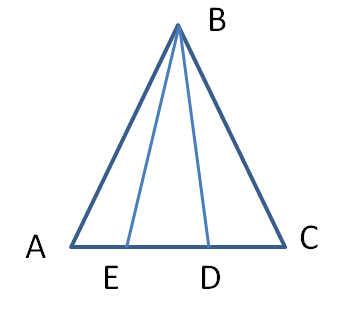 Контрольные работы по геометрии класс Атанасян Треугольник