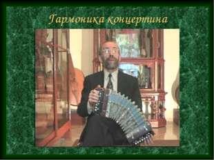 Гармоника концертина
