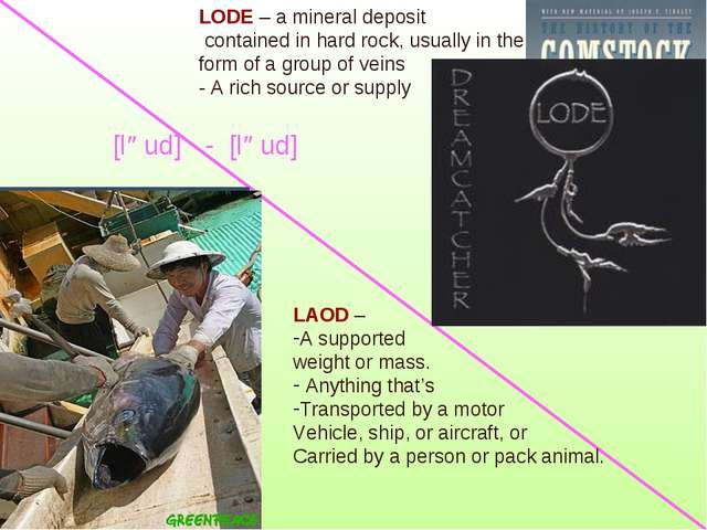 LAOD – A supported weight or mass. Anything that's Transported by a motor Veh...