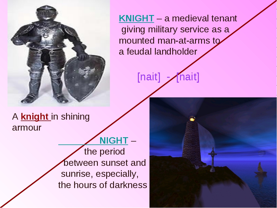 KNIGHT – a medieval tenant giving military service as a mounted man-at-arms t...