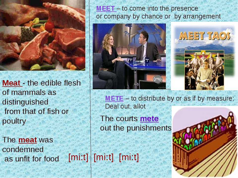 Meat - the edible flesh of mammals as distinguished from that of fish or poul...