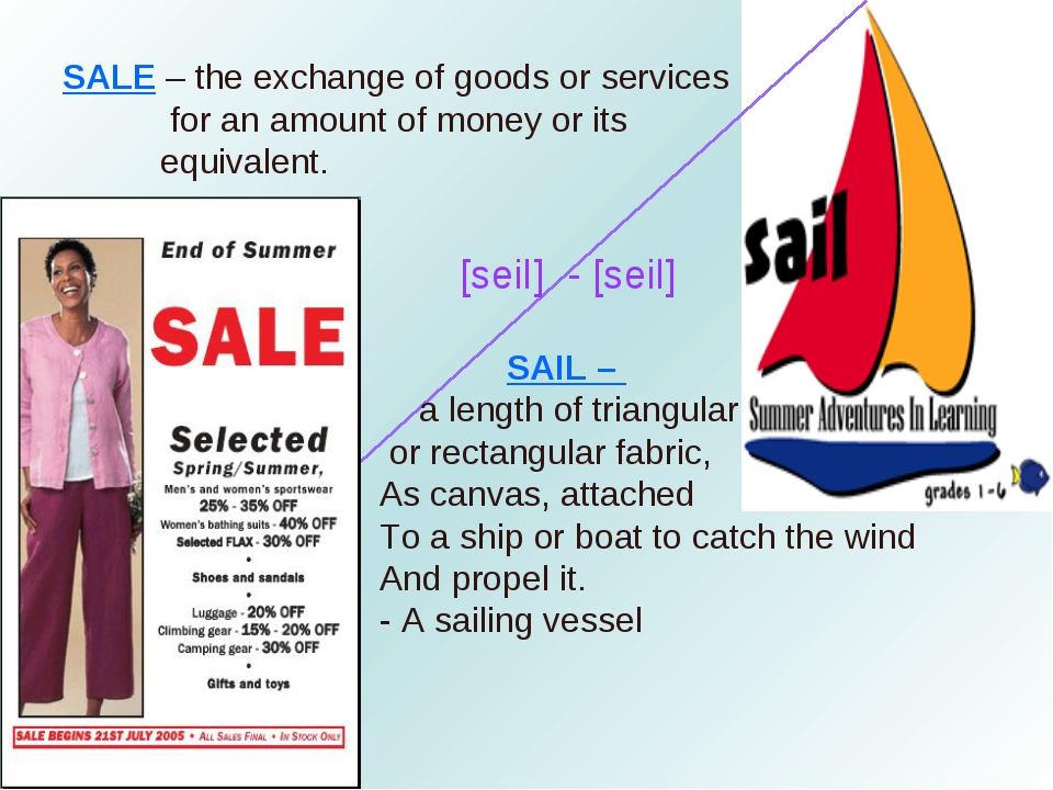 SAIL – a length of triangular or rectangular fabric, As canvas, attached To...