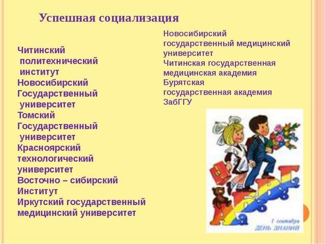 Читинский политехнический институт Новосибирский Государственный университет...
