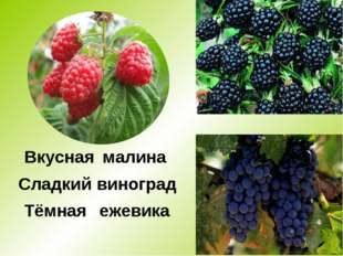 * Тёмная Вкусная Сладкий малина виноград ежевика