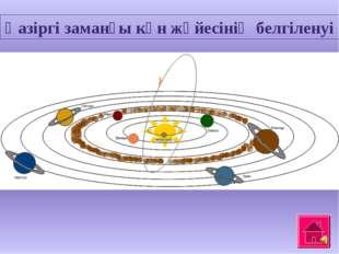 Қазіргі заманғы күн жүйесінің белгіленуі