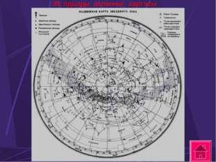 Жұлдызды аспанның картасы .