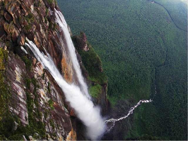 Самый высокий водопад Анхель(1054м)