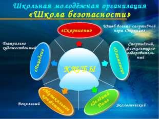 Школьная молодёжная организация «Школа безопасности» Вокальный Штаб военно-сп