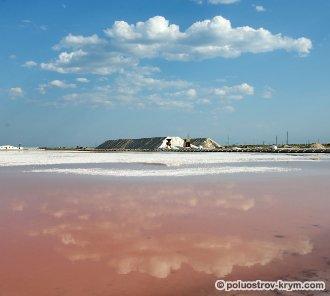 Соляное озеро Сасык-Сиваш. Евпатория, Крым. Фото Ольги Иутиной