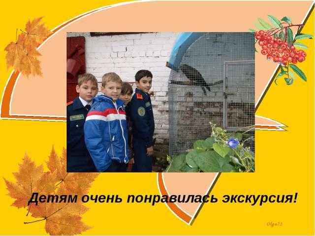 Детям очень понравилась экскурсия! Olga73