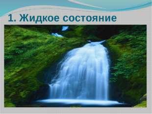1. Жидкое состояние