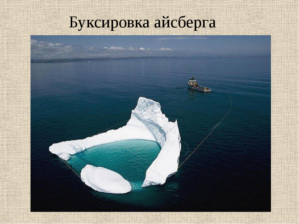 Буксировка айсберга