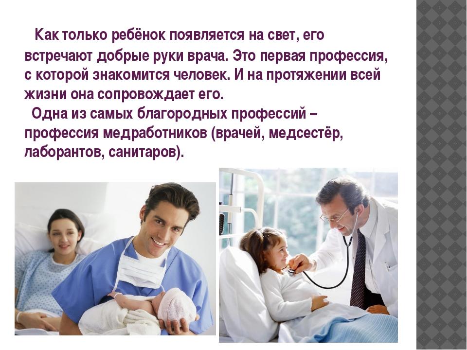 медицина как профессия возникла