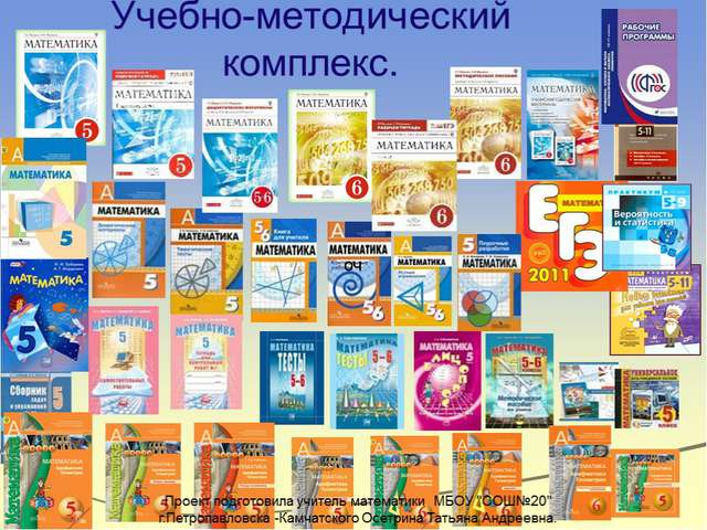 Образовательные системы ФГОС, реализуемые в г. Петропавловске-Камчатском Школ...