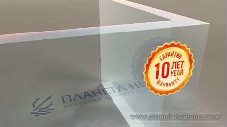 Гарантия на акриловое стекло