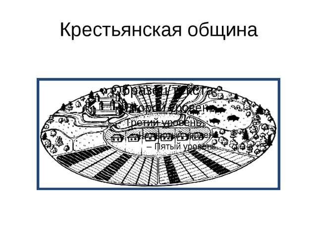 Крестьянская община