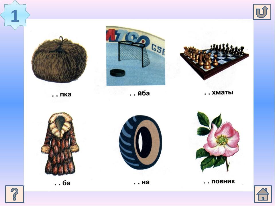 Слова на звук ш в начале слова в картинках