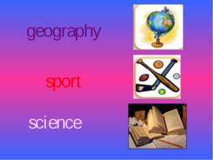 science geography sport