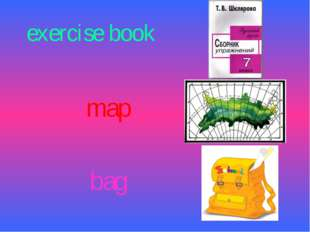 exercise book map bag