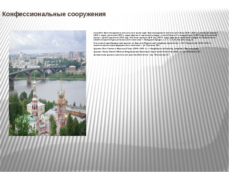 Конфессиональные сооружения Ансамбль Крестовоздвиженского женского монастыря:...